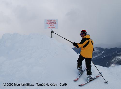 Ukrajinská avalanche area