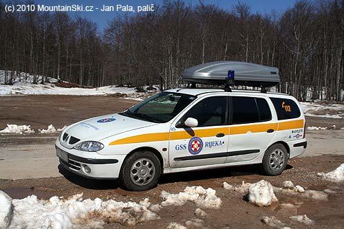 Mountain Rescue team car fromRijeka