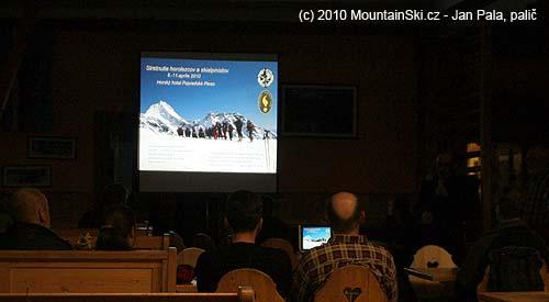 Zahájení horolezeckého a skialpinistického setkání