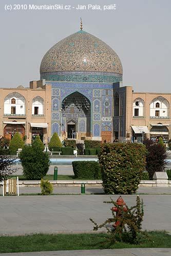 Hlavní náměstí vEsfahanu