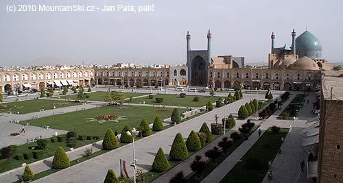 Náměstí vEsfahanu