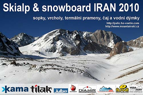 The last slide from presentation about skialpinism and snowboarding inÍrán