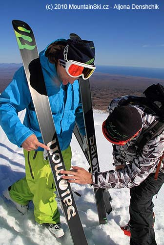 Something new on the ski?