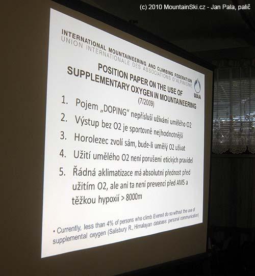 Pravidla pro použití umělého kyslíku vzóně smrti