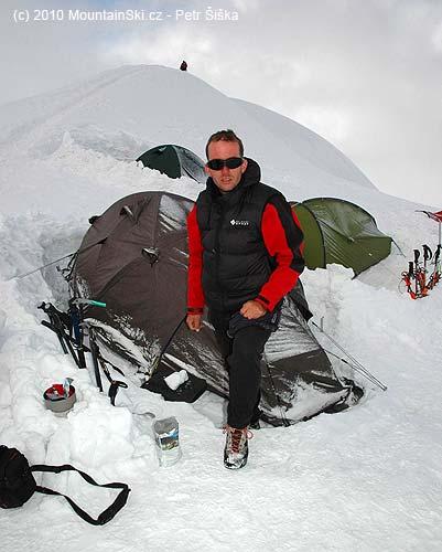 Příprava Travellanche na Mt. Blancu