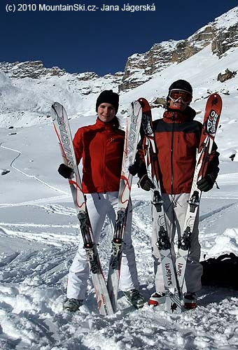 Ski exhibition at the chalet La Forcla, I