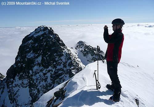 Michal Sventek nedaleko Satana