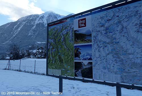 At the beginning of Ötztal valley