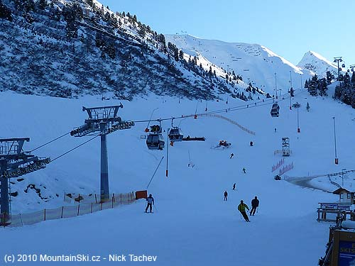 Ski slopes and off piste areas are in Ötztal incredible