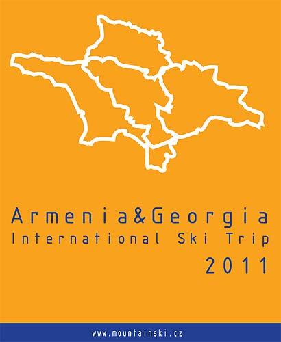 První verze loga Armenia and Georgia international ski trip 2011– autor Matúš Kuchyňa
