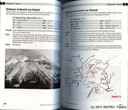 Vrchol Becca di Tos– 3301m– se ztrácí všedivém pozadí, tak ho autor obtáhnul