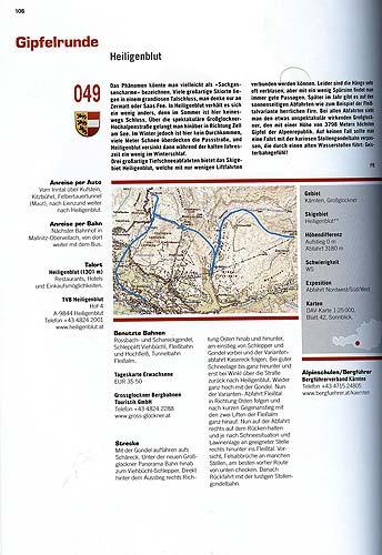 Předposlední popisovaný výlet Gipfelrunde vHeilligenblutu