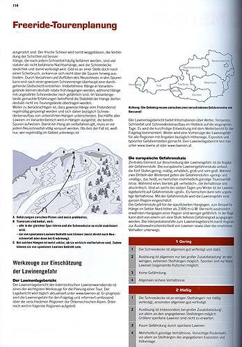 Rozbor různých sjezdů vrámci lyžařského střediska a jeho okolí na straně114