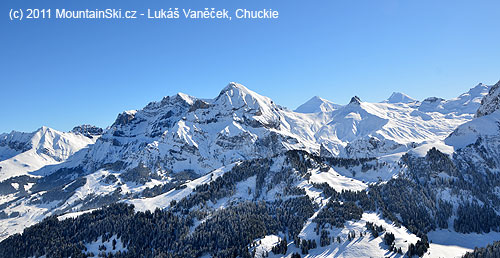 Panorama Adelbodenu