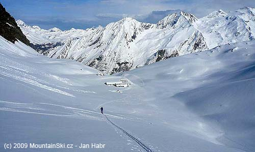 Rifugio Vitorio Sella– afternoon ascent