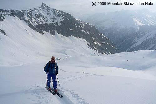 Ascent to Gran Serra– Rif V.Sella behind Tomín