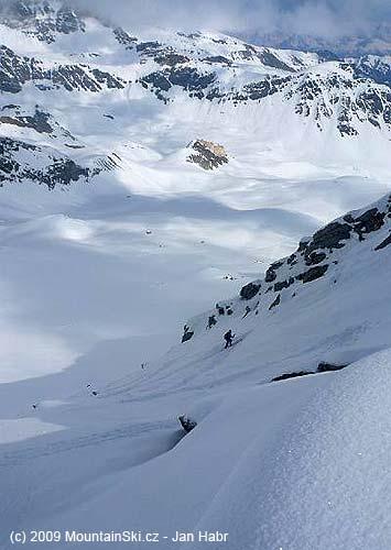 Ascent to Gran Serra