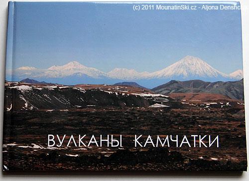 Titulní strana knihy Vulkány Kamčatky