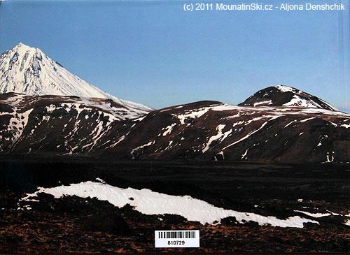 Poslední strana knihy Vulkány Kamčatky