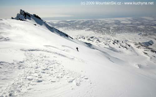 First skier