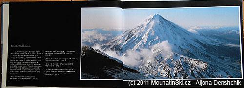 Strana 2–3 vulkán Korjakskij– král mezi vulkány voblasti Petropavlovska-Kamčatského