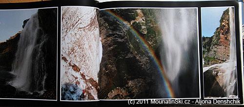 Strany 52–53 vulkán Viljučinskij– vodopád do údolí Paratunky
