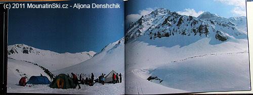 Strany 72–73 backcountry camp voblasti Vačkažec– jaro2011
