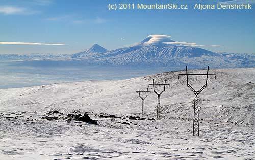 Malý a Velký Ararat jsou na dohled