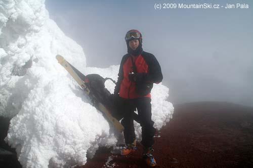 Matus at the summit of Avachinskaja