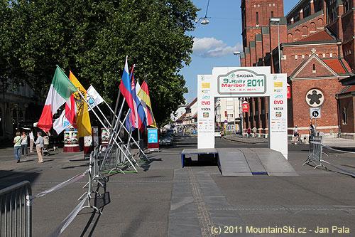 9.Škoda rally Maribor byla první víkend včervenci