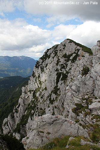 Boční vrchol Tolsta peč– 1877m