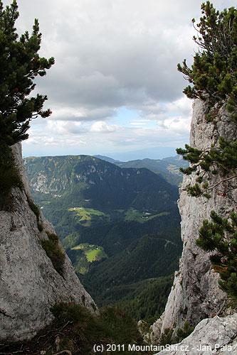 Výhled do doliny Grohatu