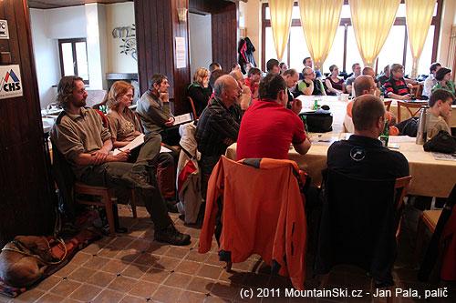 Sál byl plný účastníků zČeské republiky a Slovenska