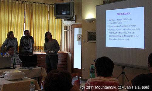 Průběh aklimatizaci při tragické horské nemoci vAndách