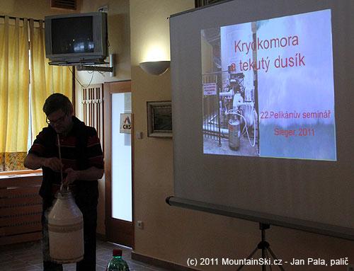 Kryokomora a tekurý dusík v podání Ladislava Siegera
