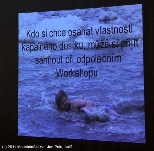 Ladislav Sieger se v Antakrtidě koupal v oceánu