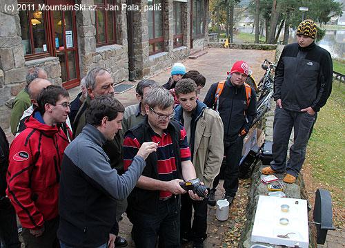 Ladislav MacGyver Sieger při kapalně dusíkovém workshopu