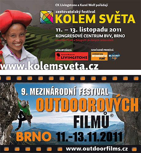 Pozvánka na festival Kolem světa 2011vBrně