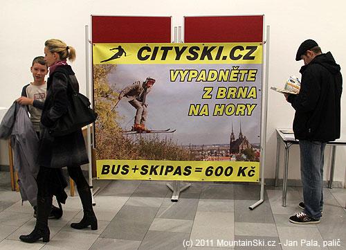Zajímavá nabídka jednodenního lyžování pro Brňáky