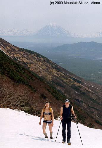 Spring climb near Termalnyj