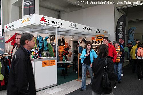 Tradiční účastník sportovních veletrhů– příborská firma Alpisport