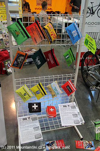 Bike Brno– cyklistické lékarničky vůbec nevypadaly jako lékarničky