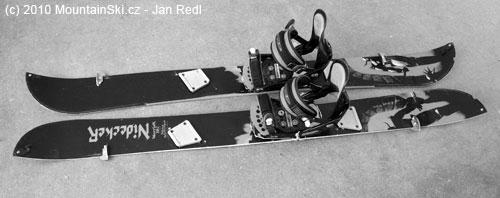 Obr. 142Doma vyrobený splitboard spoužitím setu Voilé