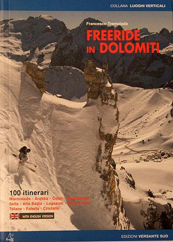 Titulní strana knihy Freeride in Dolomiti