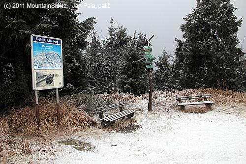 Turistické zázemí na Kleiner Fichtelbergu