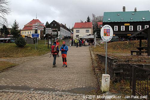 Německo-česká hranice je tvořená potokem