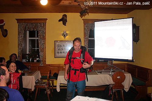 Svižník Petr Novák se připravuje kodpálení Snow Pulse