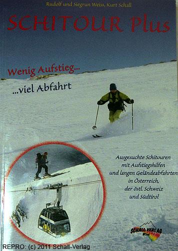 Titulní stránka skialpinistického průvodce SchitourPlus