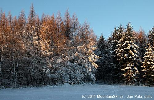 Tady to už vypadá na opravdovou zimu