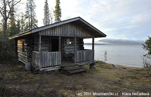 Typická chata pro přespání